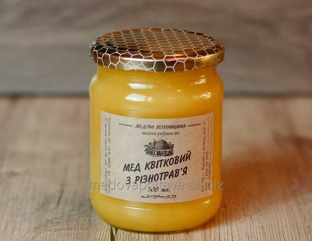 Honey from raznotravya
