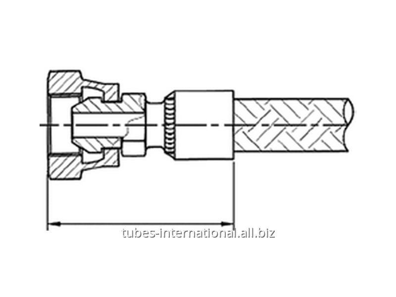 Внутренняя резьба BSP уплотнение конус 60° Tип AF2