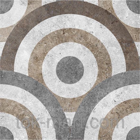 Плитка напольная Керамин Калейдоскоп 3Д (400х400) 000122637