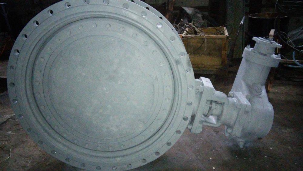 Затвор дисковый, поворотный, фланцевый 32с908р Ду1200 Ру10