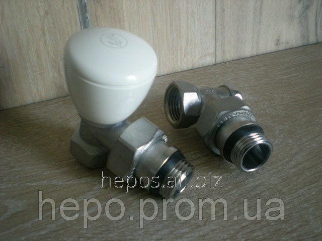 Комплект кранов радиаторый Giacomini R5, R16 R5X033 + R16X033