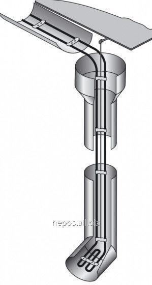 Система антиобледенения Hemstedt 15 метров водостока и желоба