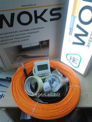 Buy Heat-insulated floor under a tile of 12 m of kV of Woks of 1250 W a thin cable of heating 125 m