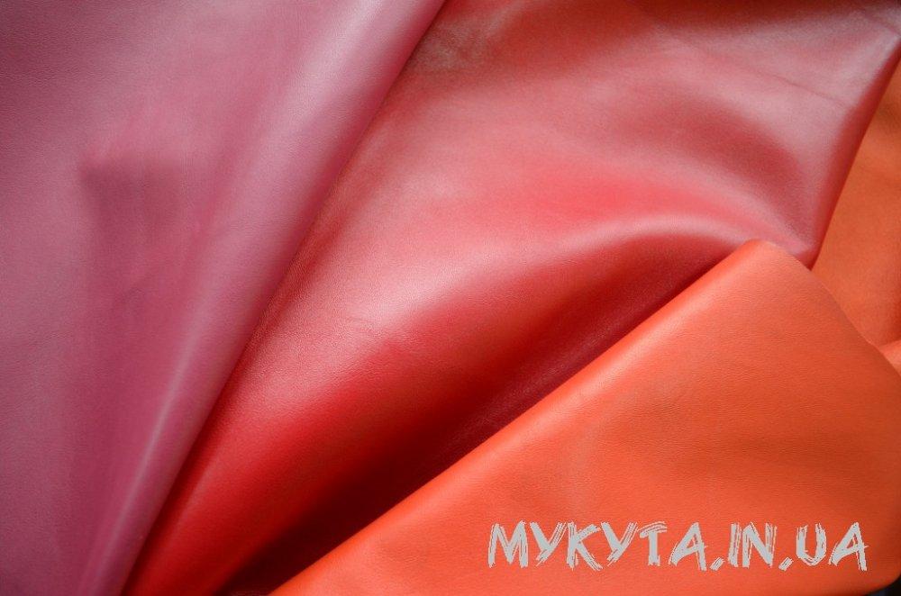 Кожа цветная одежная (сток по 1-3 шкурки)
