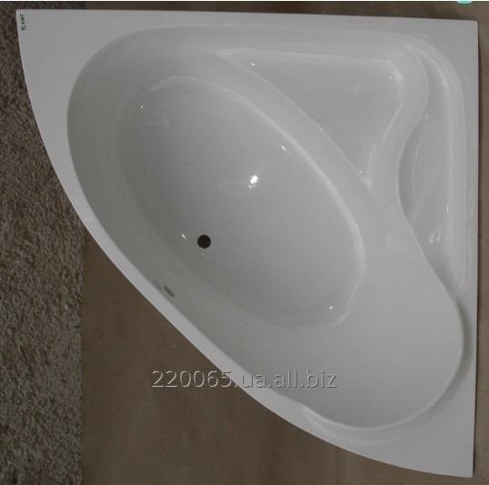 Купить Ванна акриловая угловая КМТ Каное 150 X 150 с ножками и панелью