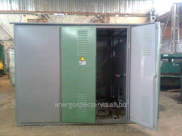 Купить Подстанция проходного типа КТП-2-630