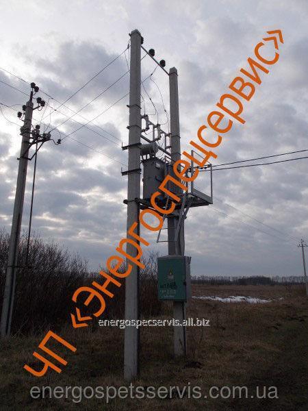 Купить Подстанция столбовая КТПС 160 кВА