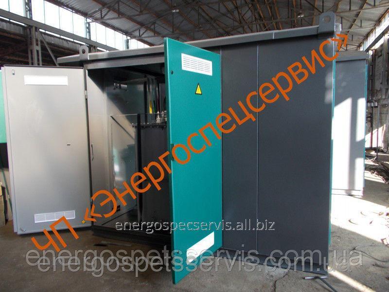 Купить Трансформаторная подстанция киоскового типа КТП 630 кВА