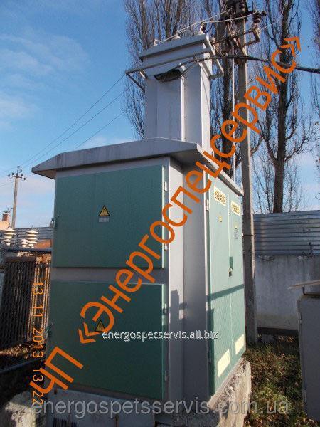 Купить Тупиковая подстанция КТП-1 40 кВА