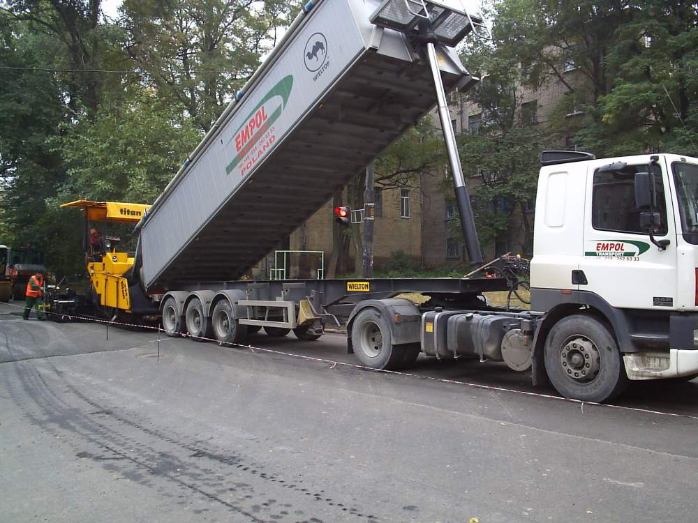 Buy Asphalt concrete road all types with ABZ
