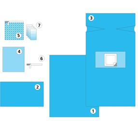 Купить Комплект для кесарева сечения № 2 и другие комплекты акушерские, одежда и наборы медицинские от производителя Неман