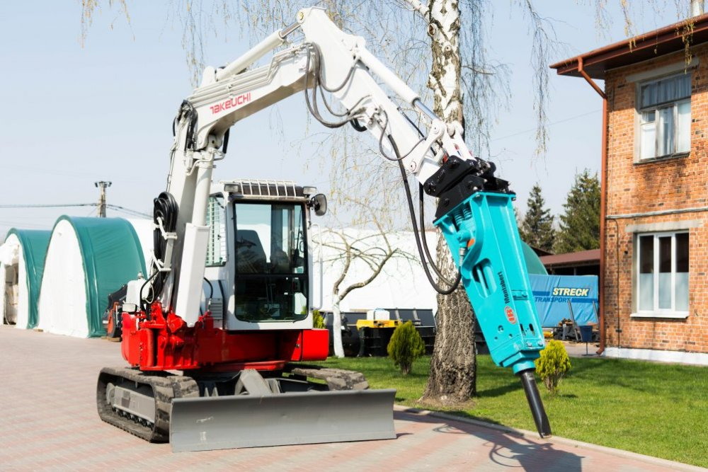 Buy Pass the Takeuchi TB180FR excavator