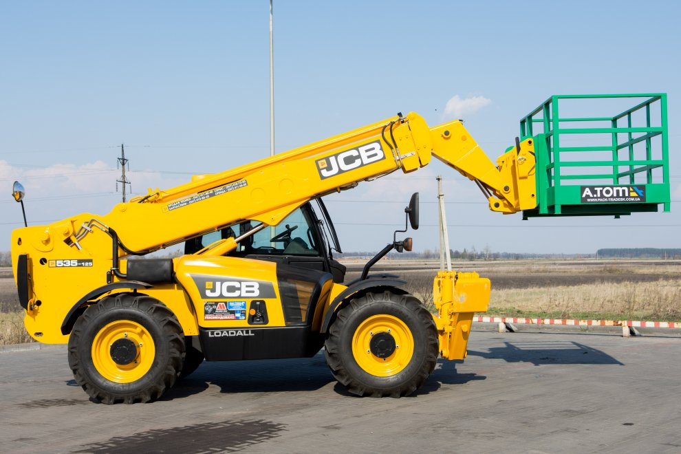 Погрузчик JCB Loadall 535-125 (дизель)