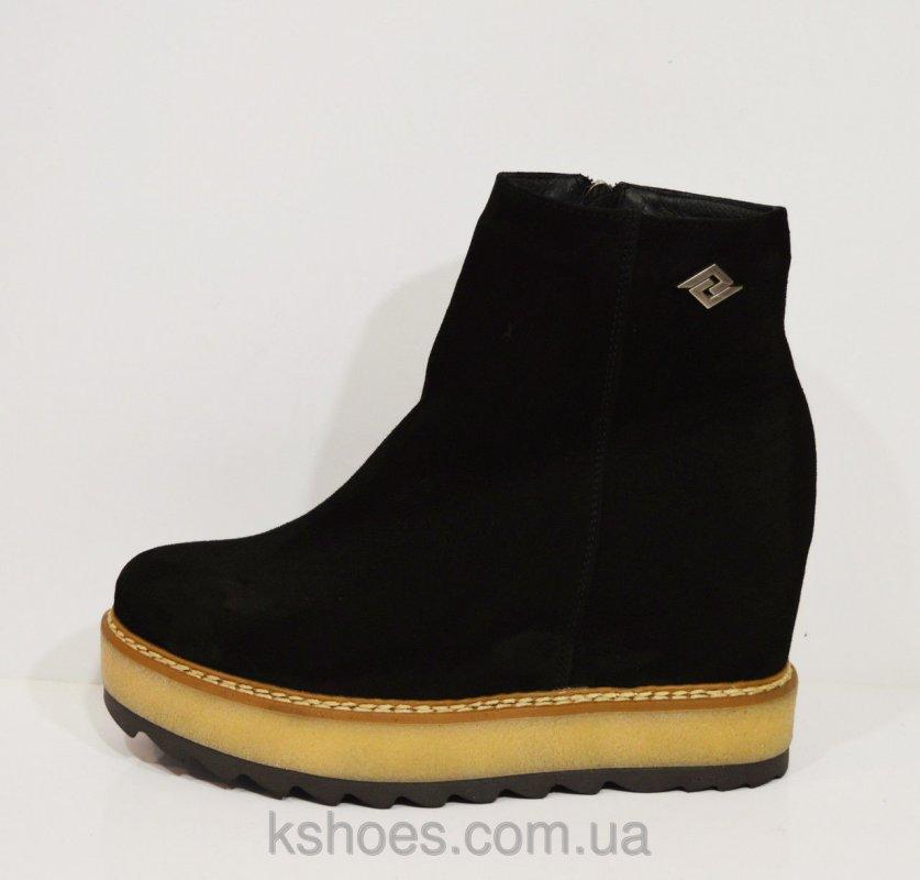 Купить Женские ботинки черные Selesta 6247