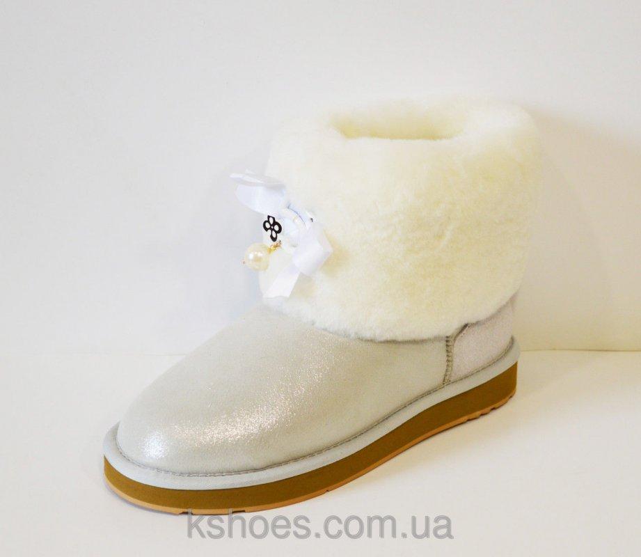 Купить Женские белые угги 5159