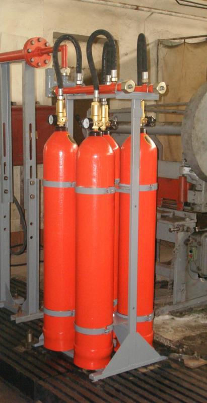 Купити Комплекти технологічного встаткування для батарей газового пожежогасіння