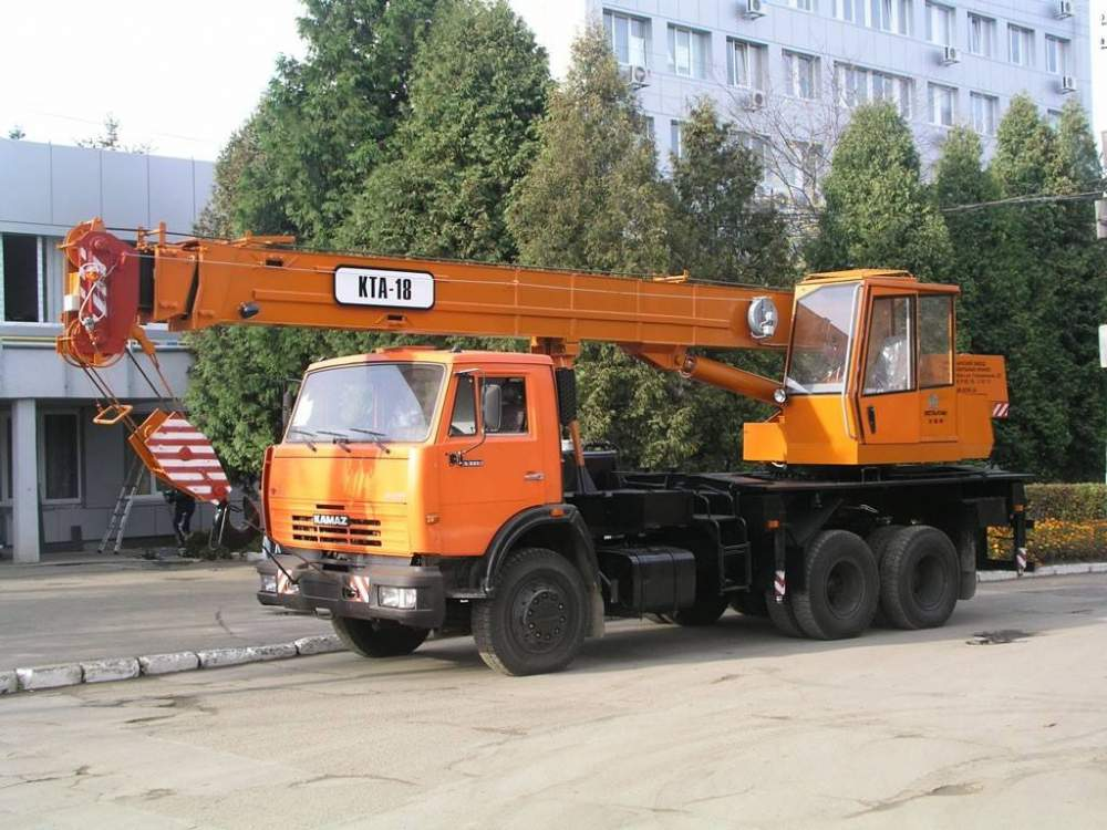 Купить Автокран КТА-18
