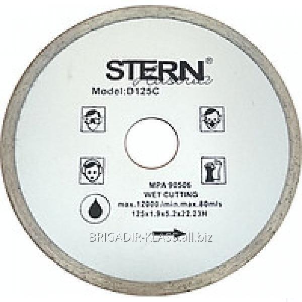 Круг алмазный отрезной Stern 125 плитка ,Модель  КАШ-03-02