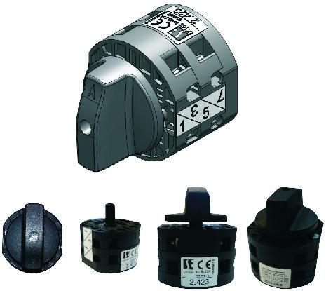 """Малогабаритные недорогие пакетные выключатели  LK16S, """"0-1"""", 16А"""