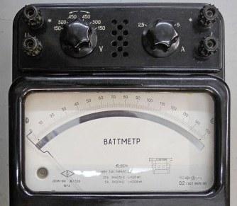 Ваттметр Д-374