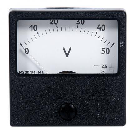 Вольтметр М42301     500-0-500в