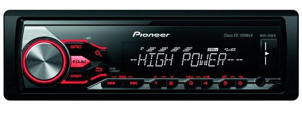 Купить Автомагнитола Pioneer MVH-280FD