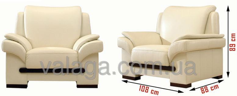 Купить Кожаные кресла Gracja