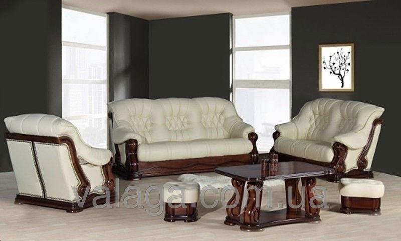 Купить Кожаный набор диванов Zeus
