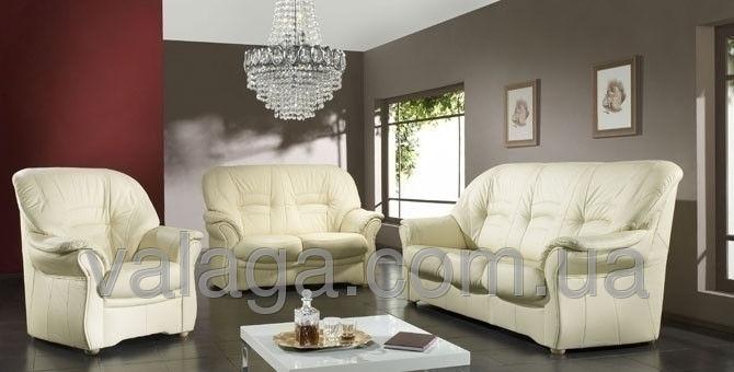 Купить Кожаный диван и кресла Jupiter