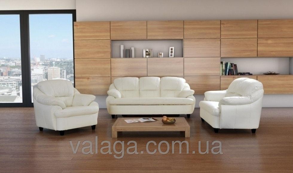 Купить Кожаный диван и кресла Sara