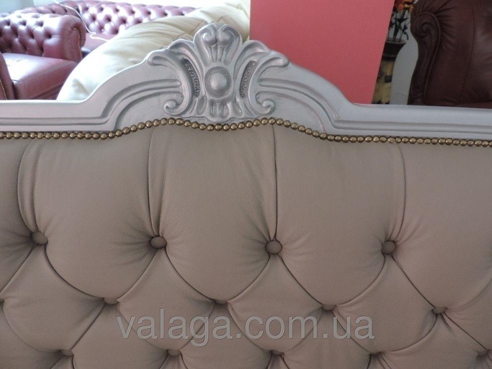 Купить Кожаный диван людовик