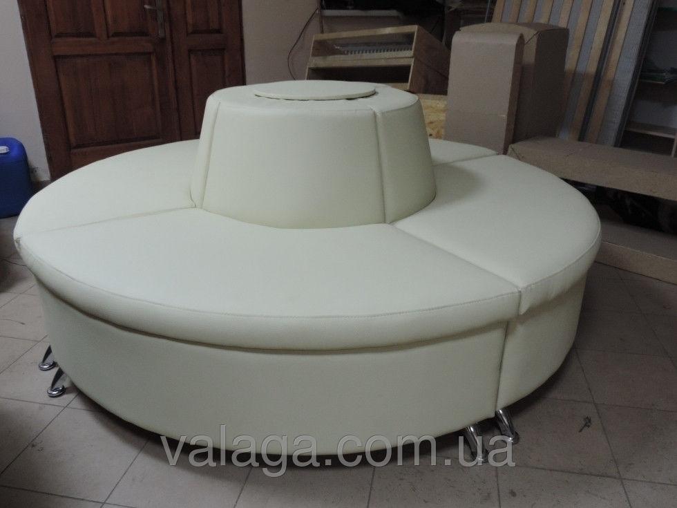 Купить Кожаный диван для магазина, офиса