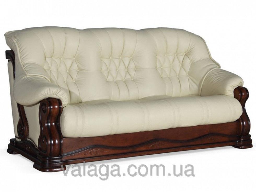 Купить Кожаный диван на дубі для гостиной