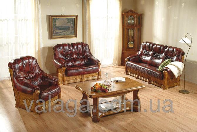 Купить Кожаный раскладной диван Kevin