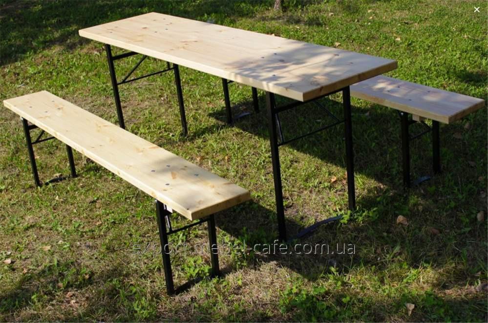 Комплект мебели ДЕСАНТ из дерева