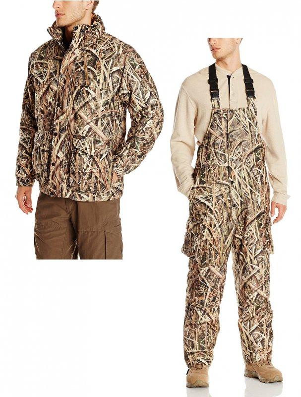 Костюм для охоты теплый Yukon Gear Men's 3N1 Insulated Parka & Bib