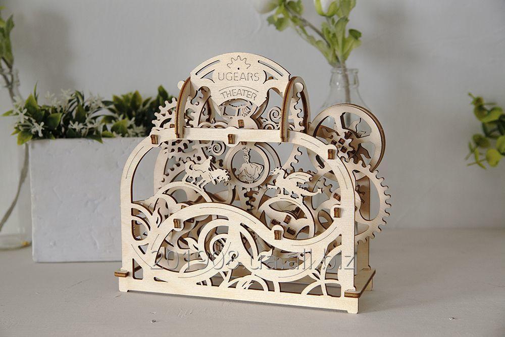 "Buy Mechanical wooden designer, 3D puzzle of Ugears ""Theatre"""