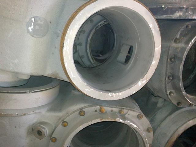 Секция газовыпускного коллектора к дизелю(16ДПРН 23/2х30) -81 шт.№ 61ƃ-022-014,015,016