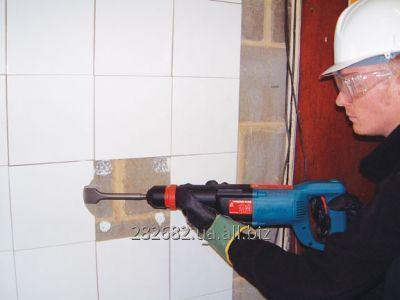 Dismantle of tile