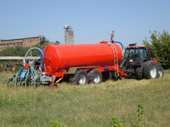 Цыстерна для воды и жидких органических удобрений ВНЦ-20, Завод Кобзаренка