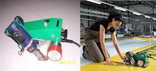 Купить MSK WELDER- B026 автомат для сварки горячим воздухом рекламных баннерных ПВХ полотен.