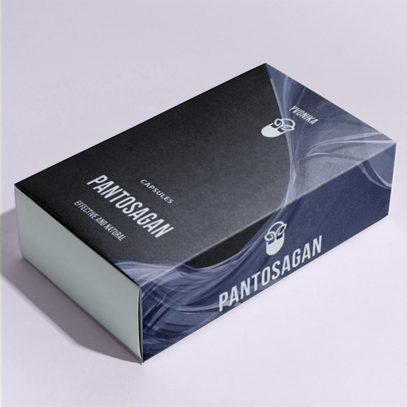 Капсулы Pantosagan Пантосаган для потенции