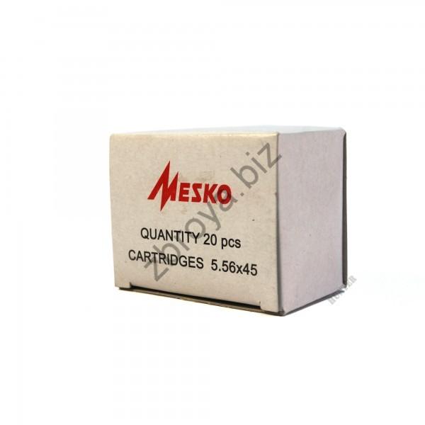 Купить Патрон Mesko 223Rem (5.56x45) FMJ, 3,56гр