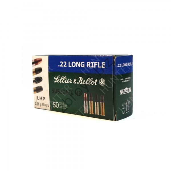 Купить Патрон Sellie&Bellot .22 LR Subsonic 2,56 гр.