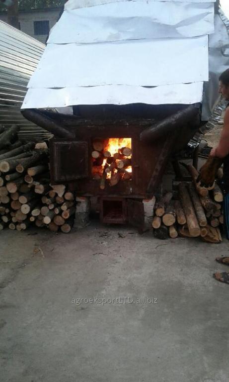 Уголь валом и фасованный, уголь из твердых пород дерева