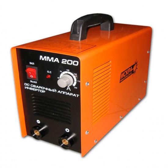 Инверторная сварка Искра ММА-200