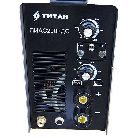 Аргонодуговая сварка Титан ПИАС200+Дс