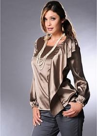 Шолковые блузы 7