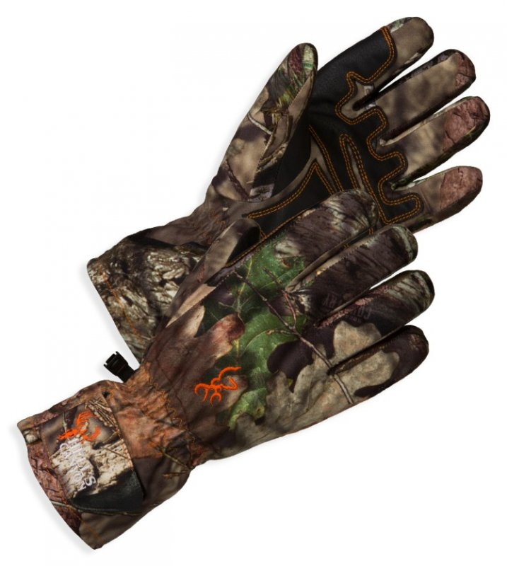Gloves for hunting the warmed Browning Hell's Canyon PrimaLoft® Pre-Vent Gloves