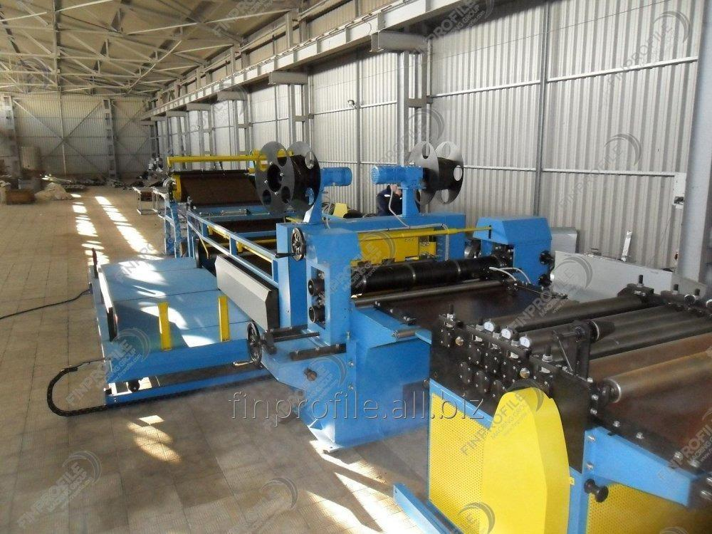 Buy Line of longitudinal and cross cutting of rolled steel
